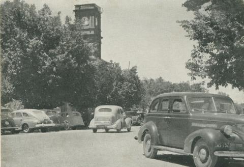 Post Office, Hare Street, Echuca, 1950