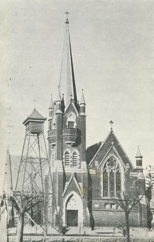 Echuca Catholic Church, Echuca, 1950