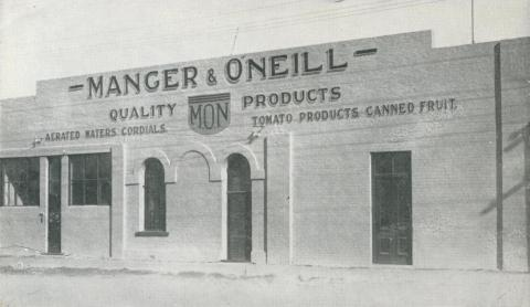 Manger & O'Neil, Echuca, 1950