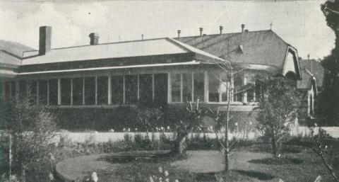 Echuca District Hospital, Echuca, 1950