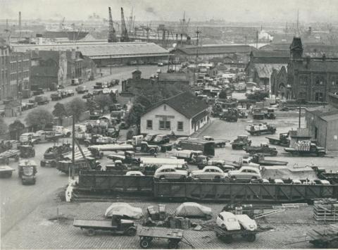 Port of Melbourne Goods Shed, 1948