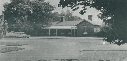 Echuca Police Station (1867), 1968