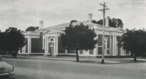 Echuca Court House, 1968