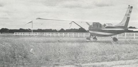 Airfield at Echuca, 1968