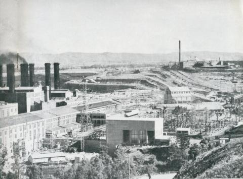 Yallourn power station, 1954