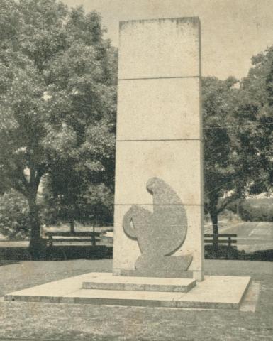 War Memorial, Yallourn, 1961