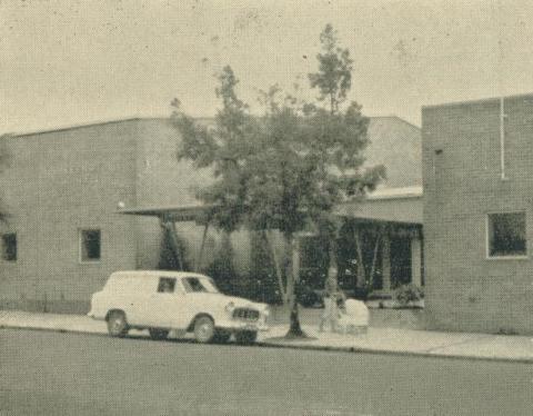 Kernot Hall, Yallourn, 1961