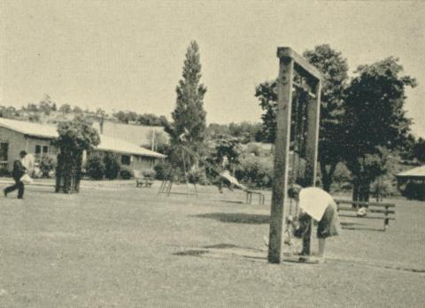 Public playgrounds, Yallourn, 1961