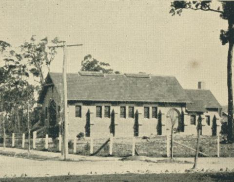 St Andrews Presbyterian Church, Yallourn, 1961