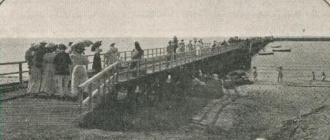 Dromana Pier, 1910