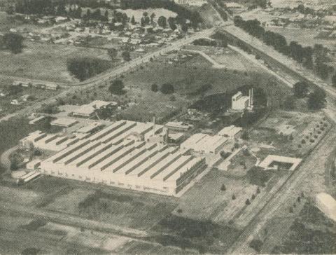Bruck Mills, Wangaratta, 1960
