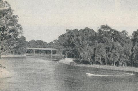 Murray River, Echuca, 1961