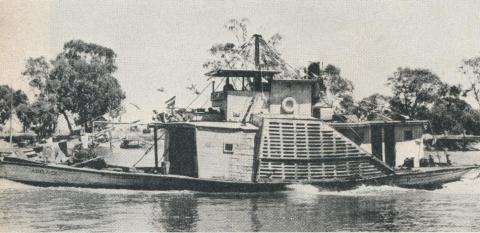 Paddle Steamer Adelaide, Echuca, 1961