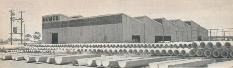 Humes, Echuca, 1961
