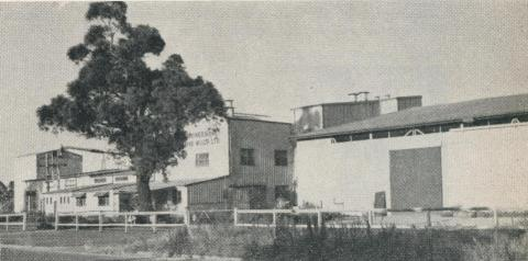 Rice processing mill, Echuca, 1961