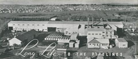 Pipe Depot at Preston, 1956