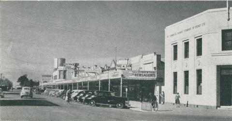 Fryer Street, Shepparton, c1952