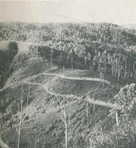 Grand Ridge Road, near Traralgon, c1952