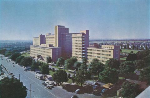 The Royal Melbourne Hospital, Parkville, 1958