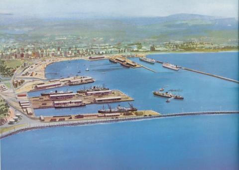 Port of Portland, 1958
