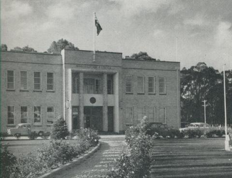 Civic Headquarters, Echuca, 1958