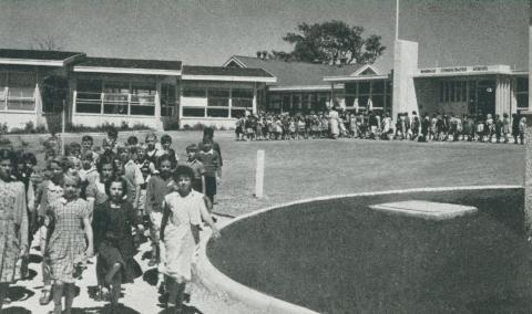 Boisdale Consolidated School, 1955