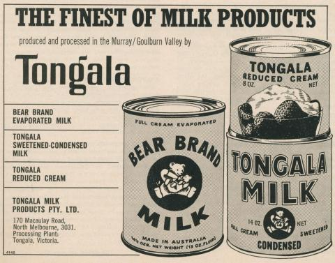 Tongala Milk Products, 1969