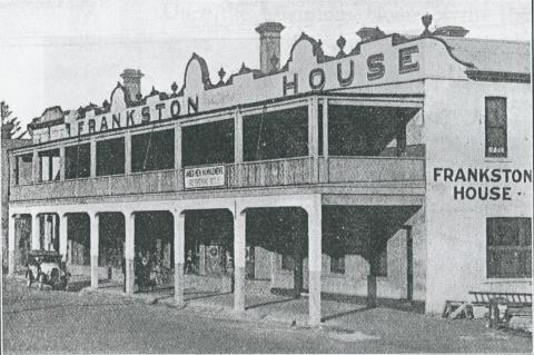 Frankston House, 1931