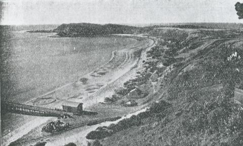 Looking towards West Head, Flinders, 1931