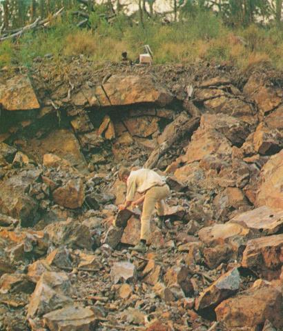 Iron ore deposit, Nowa Nowa, 1970