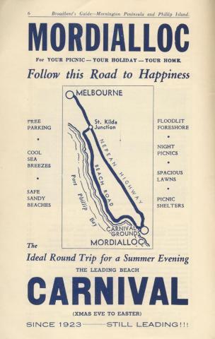 Mordialloc Carnival, 1949