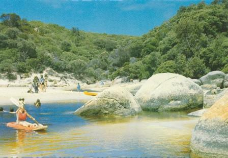 Canoeing on the Tidal River, Wilson's Promontory