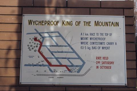 Wycheproof, King of the Mountain, 1985