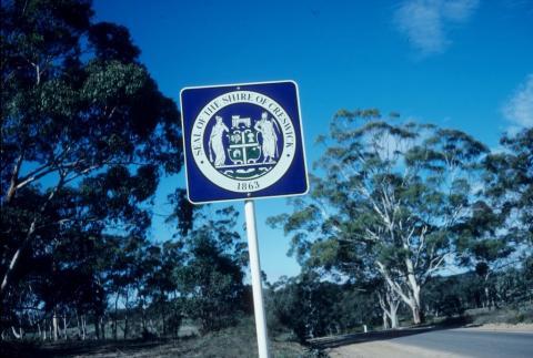 Shire of Crewick sign