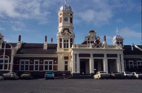 Maryborough Railway Station, 1985