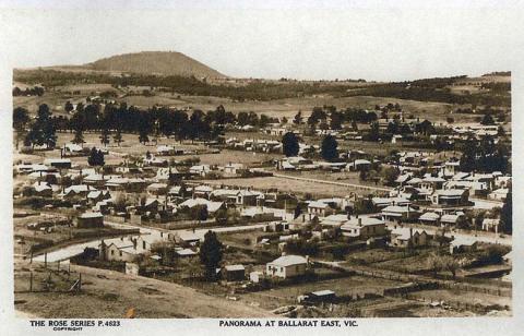 Panorama at Ballarat East near Creswick, c1920