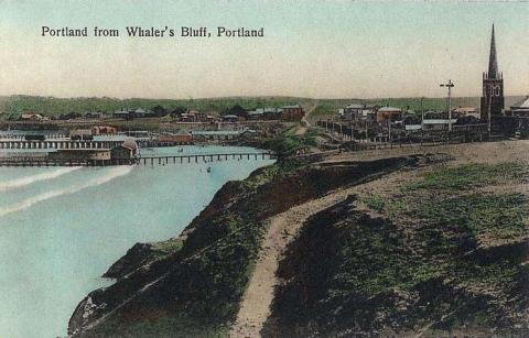Portland from Whaler's Bluff, c1910
