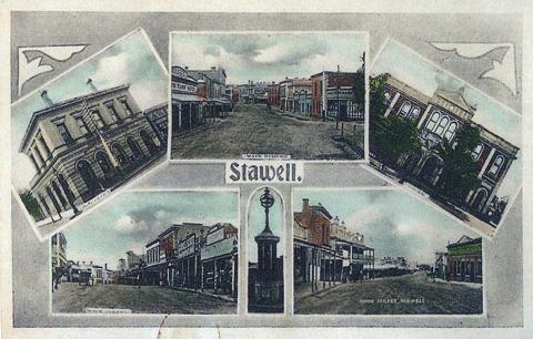 Views of Stawell, c1910