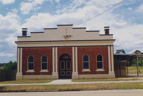 Mechanics Institute and Public Library, Bruthen, 1998