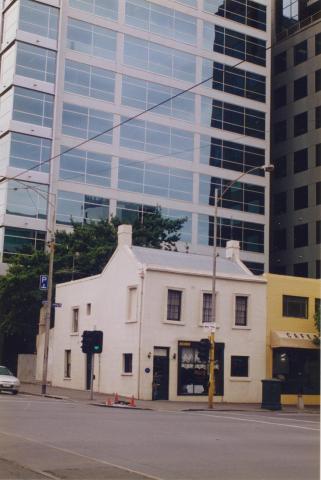 1852 shop, corner King and Latrobe Streets, Melbourne, 1998