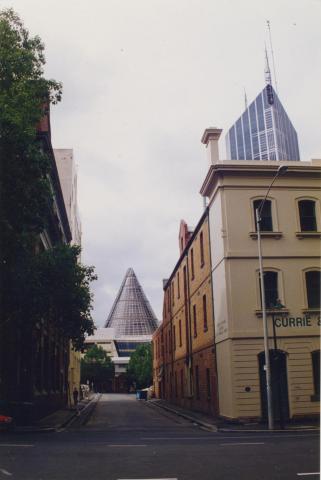 Melbourne Central from Stewart Street, 1998