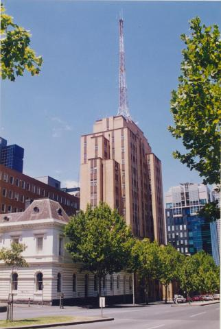 Former Police Headquarters from old gaol, Melbourne, 1998