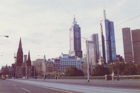 Princes Bridge, Melbourne City, 1999