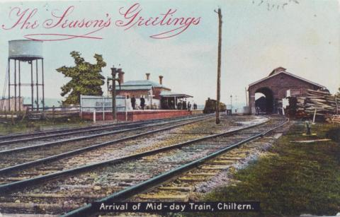 Railway Station, Chiltern, 1906