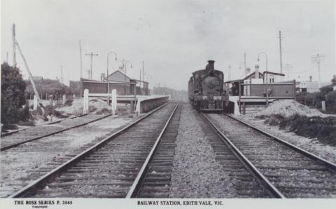 Railway Station, Edithvale
