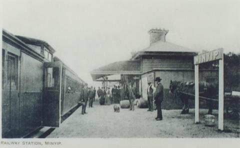 Minyip Railway Station