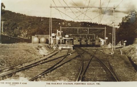 Ferntree Gully Railway Station