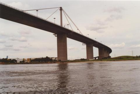 Lower Yarra Crossing, looking east from river, 2000