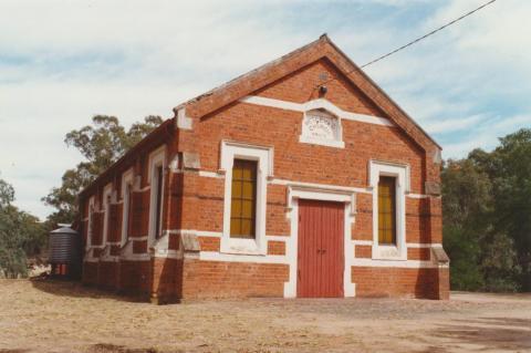 Lockwood Uniting Church, formerly Wesleyan, 2001