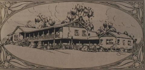 Mount Kitchener House, 1918